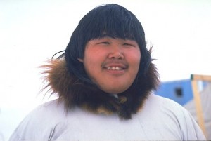 Alaska native Inupiat Eskimo hunter